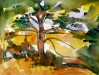 Homage to Cezanne: Great Pine of Aix